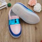Harga Freeshop Sepatu Slip On Lampu Anak Led Pink Blue Termahal