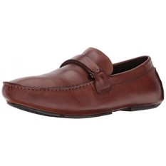 From USA Kenneth Cole REACTION Mens Design 201462 Slip-on Loafer, Cognac, 8.5 M US - intl