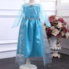 Frozen Elsa Baju Cosplay Anak - Z003