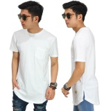 Harga Frozenshop Com Longline T Shirt Basic White Termahal
