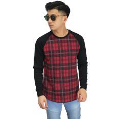Jual Frozenshop Com Sweatshirt Raglan Tartan Square Sweater Pria Satu Set
