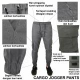 Jual Fs Fashion Celana Joger Panjang Pria Chino Cotton Slimfit Abu Fs Fashion Ori