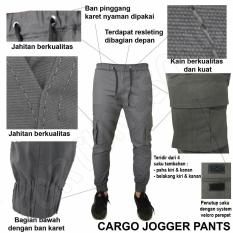 Katalog Fs Fashion Celana Joger Panjang Pria Chino Cotton Slimfit Abu Fs Fashion Terbaru