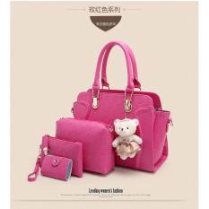 Jual Fsmall 255 Rose Tas Set 4In1 Import Online Riau Islands