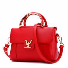 FSMall 559 Tas Import mirip branded warna Merah