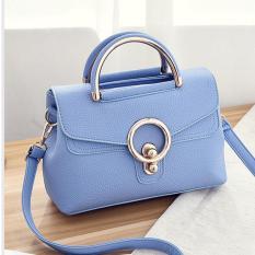 FSMall 594 Tas Selempang Wanita warna Birumuda