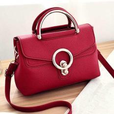 FSMall 594 Tas Selempang Wanita warna Merah
