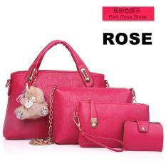 FSMall Tas 4in1 Set warna Rose