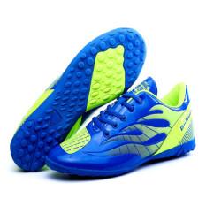 FSW Pria Wanita Sepatu Sepak Bola Orang Dewasa Boy Kid Pelatih Olahraga Sepak Bola Cleat Sepatu-biru-Intl