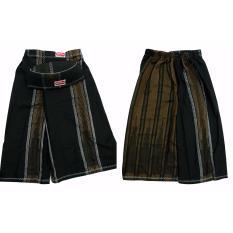 FTC - Banaka Sarung Celana Anak Size M (Hitam Coklat)