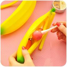 FTS031 - Dompet koin silikon pisang/banana silicone coin