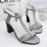 Harga Fuboshoes Sepatu Wanita High Heels Sonya Grey Seken