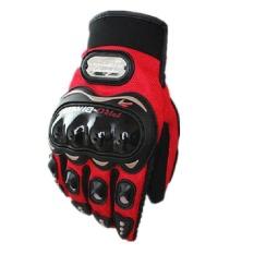 Toko Sarung Tangan Jari Penuh Untuk Untuk Mengendarai Motorcross Merah L Intl Lengkap Tiongkok