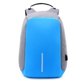 Model Fungsi Anti Theft Travel Backpack Pria Besar Kapasitas Bisnis Komputer Ransel Charge Shoulder Bag Terbaru