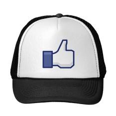Funny Facebook Like Trucker Cap Trucker Hat - intl