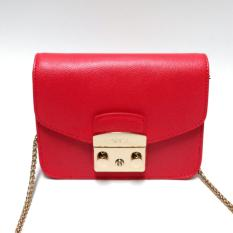 Furla Mini Metropolis Crossbody (Ruby Red)