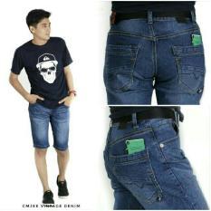 Beli Ga Celana Jeans Pendek Pria Biowosh Pake Kartu Kredit