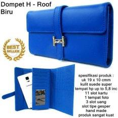 Gabrielle Dompet H Roof Korean Style- Biru