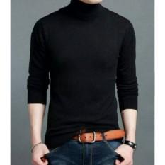 Gabrielle Korean Style Turtleneck For Men - Black