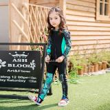 Spesifikasi Gadis Lengan Panjang Celana Panjang Baju Selam Lake Hijau Online