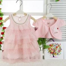 Harga Gaun Setelan Anak Perempuan Dua Potong Kelinci Rok Set Cahaya Merah Muda Kelinci Rok Set Cahaya Merah Muda Oem Terbaik