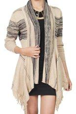 Beli Gaia Clothe Line Cardigan Hnc Knit Krem Gaia Dengan Harga Terjangkau