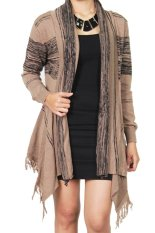 Promo Gaia Clothe Line Cardigan Hnc Knit Mocca Akhir Tahun