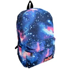 Galaxy Pattern Unisex Travel Backpack Leisure Bags Schoolbag Bu - intl