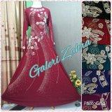 Beli Galeri Zahra Abaya India Daun 02 Pink