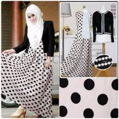 Gambar Vanela Polka- Busana Muslim Baju Remaja Vanelia Jersey Premium Murah Termurah