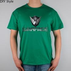 Permainan R Medan Tempur Warface Kaus Katun Likra Terbaik 11030 Merek Modis Kaus Pria Baru DIY Gaya Kualitas Tinggi Hijau 2017-Internasional