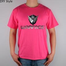 GAME R Medan Tempur WARFACE T-shirt Cotton Lycra Top 11030 Fashion Merek T Shirt Pria Baru DIY Kualitas Khaki 2017-Intl