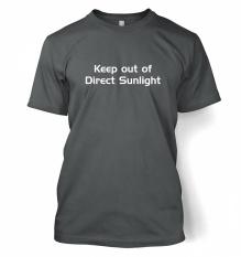 Gaming Tshirts Oleh Sesuatu Geeky Pria Jauhkan dari Sinar Matahari Langsung Kaos-International