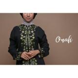 Diskon Gamis Abaya Arab Hitam Bordir Flower Aisyah Hijau Jawa Timur