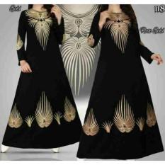 Gamis Abaya Hitam  - Abaya Arab