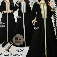 Promo Gamis Abaya Hitam Abaya Arab Gamis Modern