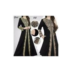 gamis abaya hitam original
