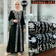 Gamis Abaya Turkey 147/ Gamis Arab/ Gamis Muslim Maxi Syari