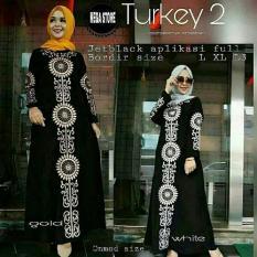 gamis abaya turkey 2/ Gamis muslim maxi syari