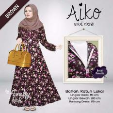 Gamis Aiko - Dark Brown