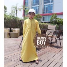 Gamis Anak Laki Warna Kuning
