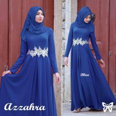 Gamis Azzahra Maxi Blue