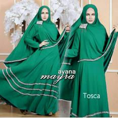 Dapatkan Segera Gamis Baju Pakaian Wanita Muslim Ayana Syari Tosca
