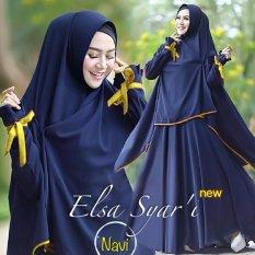 Toko Gamis Baju Pakaian Wanita Muslim Elsa Navy Fryto Di Dki Jakarta