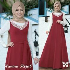 Gamis / Baju / Pakaian Wanita Muslim Slavina Syari