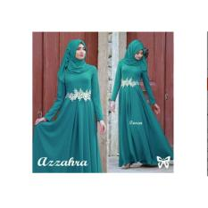 Gamis / Baju Wanita Muslim Azzahra Syari tosca