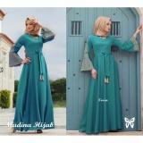 Harga Gamis Baju Wanita Muslim Madina Syari Tosca Paling Murah
