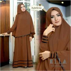 Spesifikasi Gamis Baju Wanita Muslim Syfarose Syari Kopi Lengkap