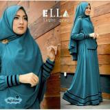 Harga Gamis Baju Wanita Muslim Syfarose Syari Royal Blue Murah