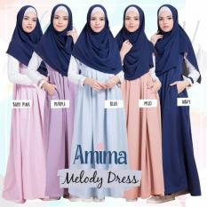 Gamis Balotelly Simple Elegant Melody Dress By Amima